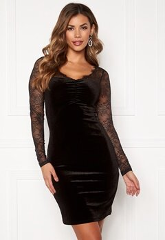 ONLY Zemba L/S Dress Black Bubbleroom.se