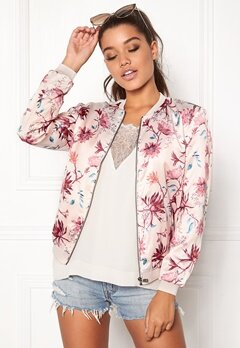 ONLY Zircon L/S Bomber Pink Tint Bubbleroom.se