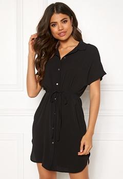 ONLY Nova Lux Soild Dress Black Bubbleroom.se