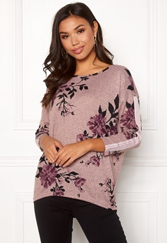ONLY Elcos 4/5 Ella Top Adobe Rose Bubbleroom.se