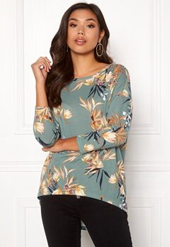 ONLY Elcos 4/5 Top Chinois Green Bubbleroom.se