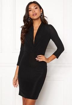 ONLY Star 3/4 Dress Black Bubbleroom.se