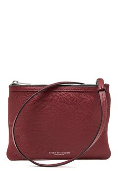 TIGER OF SWEDEN Ortisei 2 Bag Dark Red Bubbleroom.se