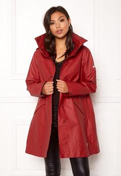 Odd Molly Outstanding Rainjacket Deep Red Bubbleroom.se