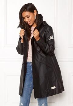 Odd Molly Outstanding Rainjacket Almost Black Bubbleroom.se