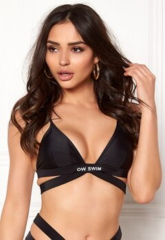 OW Intimates Bali Swim Top Blk Bubbleroom.se
