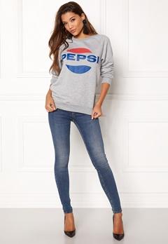Pepsi Sweet Pepsi Crew Grey Melange Bubbleroom.no