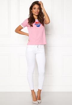 Pepsi Sweet Pepsi Ringer T-Shirt Pink Bubbleroom.se