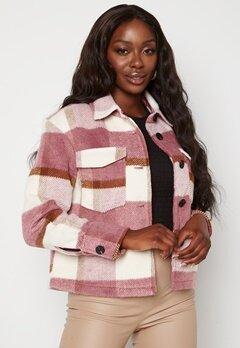 VERO MODA Pernille Short Jacket Mesa Rose Checks Bubbleroom.se