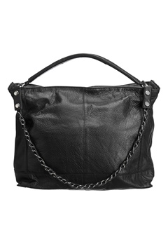 Pieces Phillippa Leather Bag Black Bubbleroom.se