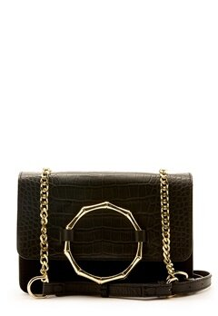 Pieces Alvira Leather Cross Body Black Bubbleroom.se