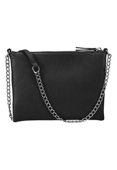 Pieces Amore Cross Body Black Bubbleroom.se