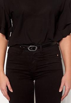 Pieces Ana Leather Jeans Belt Black Bubbleroom.se