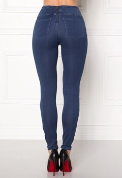 Pieces Betty High Waist Jeggings Medium Blue Denim Bubbleroom.eu