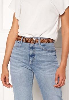 Pieces Cynlee Leather Jeans Belt Cognac Bubbleroom.se