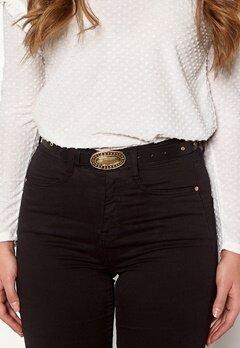 Pieces Dalena Waist Belt Black/Gold Bubbleroom.se