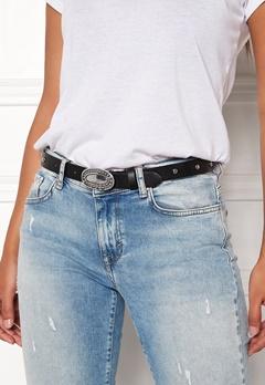 Pieces Dalena Waist Belt Black/Silver Bubbleroom.se