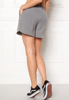 Pieces Donni Shorts Light Grey Melange Bubbleroom.se