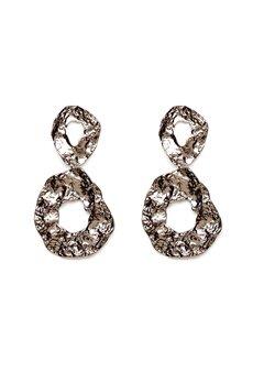 Pieces Frija Earrings Silver Colour Bubbleroom.se