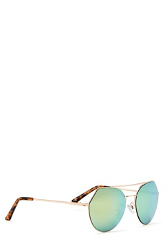 Pieces Gili Sunglasses Rose Gold Colour Bubbleroom.se