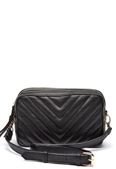 Pieces Gitana Leather Crossbody Black Bubbleroom.fi