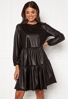 Pieces Hannah LS Dress Black Bubbleroom.se