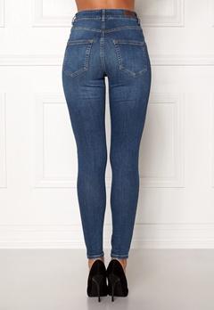 Pieces Highfive Delly B184 Jeans Medium Blue Denim Bubbleroom.se