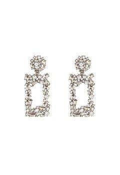 Pieces Janet Earrings Silver Colour Bubbleroom.se