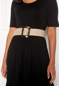 Pieces Jettie Waist Belt Nature Bubbleroom.se