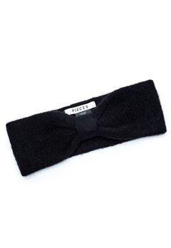 Pieces Josefine Wool Headband Black Bubbleroom.se