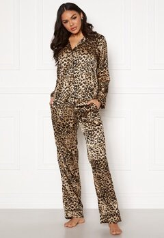 Pieces Juliana PJ Set Toasted Coconut Bubbleroom.se