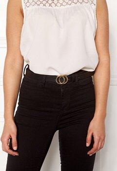 Pieces Karren Jeans Belt Black-Gold Bubbleroom.se