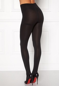 Pieces Kental fleece tights Black Bubbleroom.se