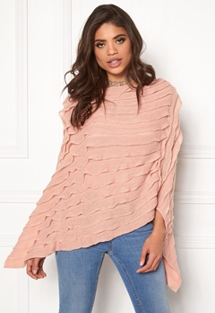Pieces Kia Betty Poncho Misty Rose Bubbleroom.eu