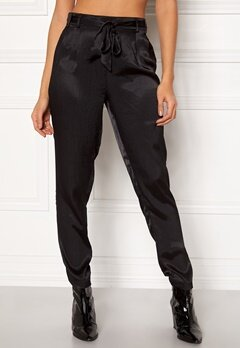 Pieces Laura Ankle Pants Black Bubbleroom.se
