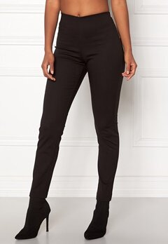 Pieces Logan Slim Ankle Pant Black Bubbleroom.se