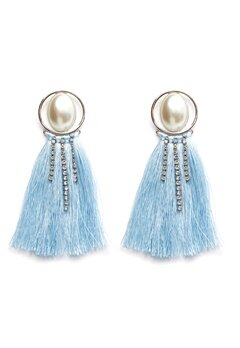Pieces Mabelle Earrings Silver Colour Bubbleroom.se