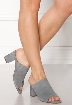 Pieces Mela Suede Shoes Grey Bubbleroom.se
