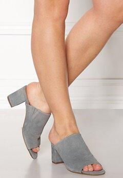 Pieces Mela Suede Shoes Grey Bubbleroom.se