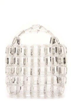 Pieces Milka Pearl Bag Bright White Bubbleroom.se