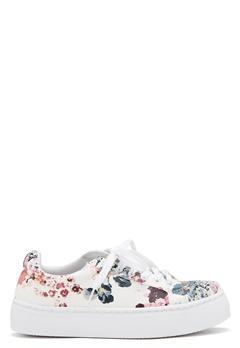 Pieces Moa Flower Sneaker White Bubbleroom.se