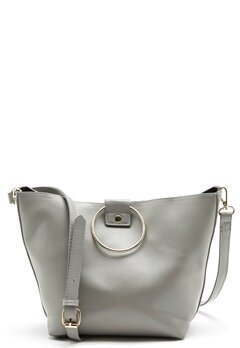 Pieces Naomi Bag Light Grey Melange Bubbleroom.se