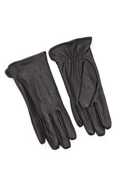 Pieces Nellie Leather Glove Black Bubbleroom.se