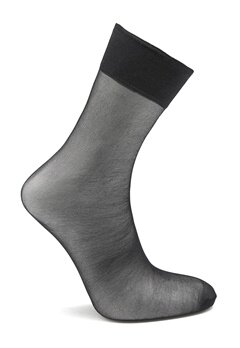 Pieces New Nikoline 2-Pack 20 Den Knee Socks Black Bubbleroom.se