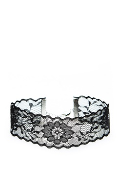 Pieces Nora Choker Black Bubbleroom.se