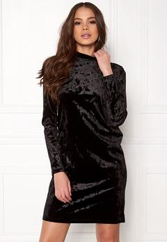 Pieces Rhine T-Neck Dress Black Bubbleroom.dk
