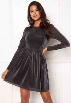 Pieces Rima Dress Black Bubbleroom.se