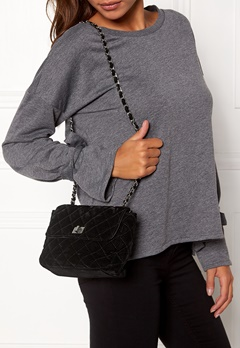 Pieces Riva Cross Body Bag Black Bubbleroom.no