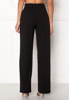 Pieces Vicca HW Vide Pants Black Bubbleroom.se