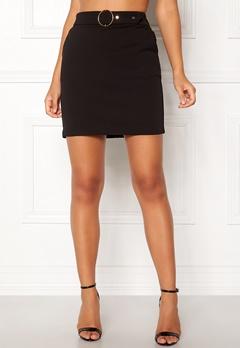 Pieces Vicca Skirt Black Bubbleroom.se